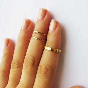 Gold Knuckle Rings - Gold Stacking ..