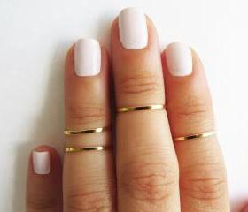 Gold Ring - Stacking..
