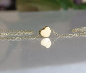 Gold necklace - Tiny..
