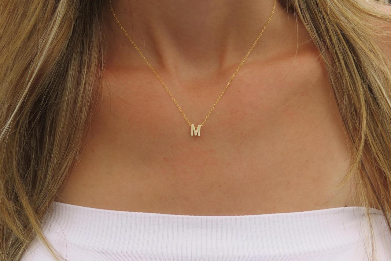 cubic necklaces item in from zirconia pendant women gold for color chains alphabet capital platinum r initial fashion jewelry necklace letter crystal plated