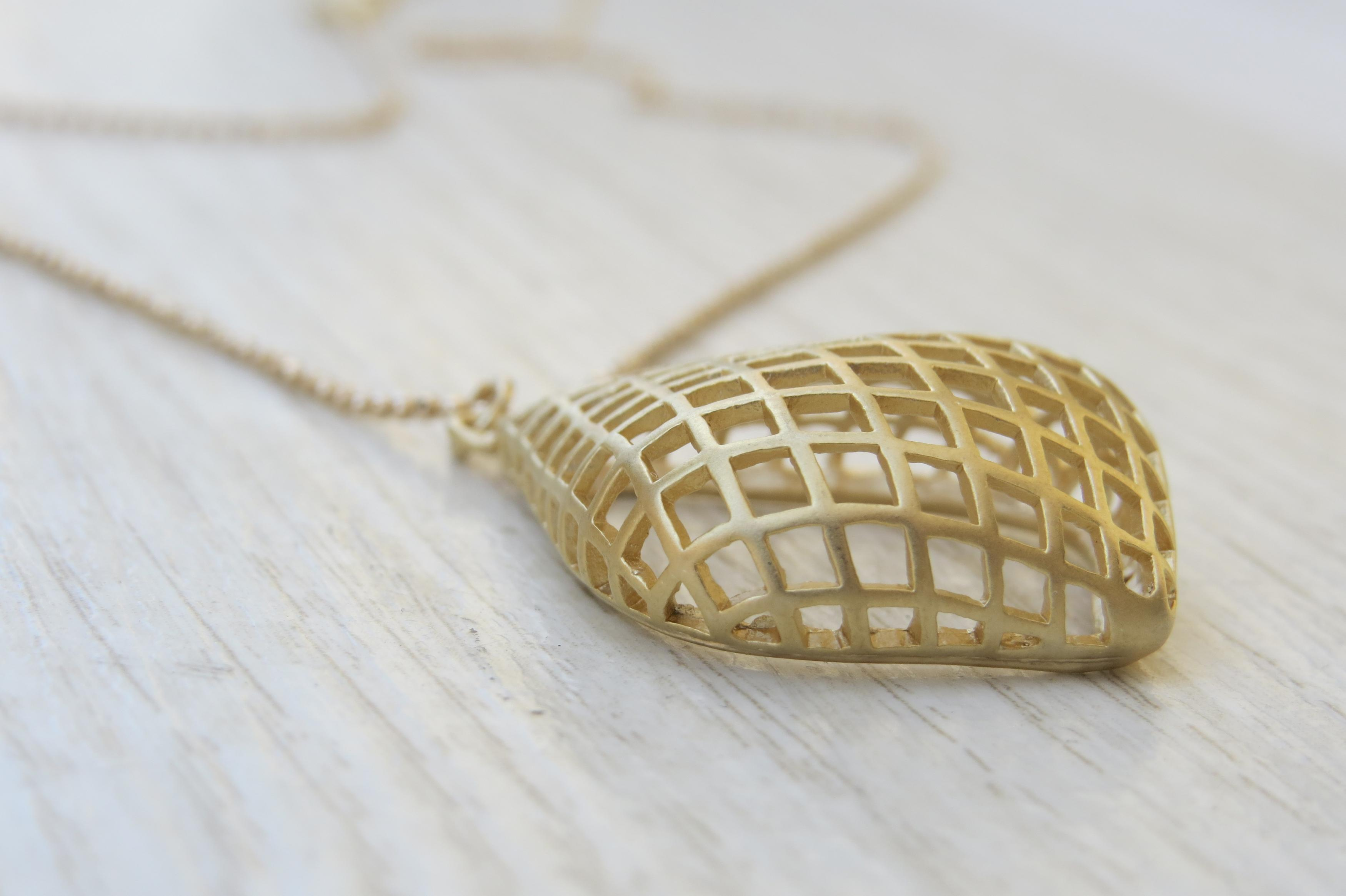 Gold Long Necklace Gold Drop Necklace Simple Gold Necklace