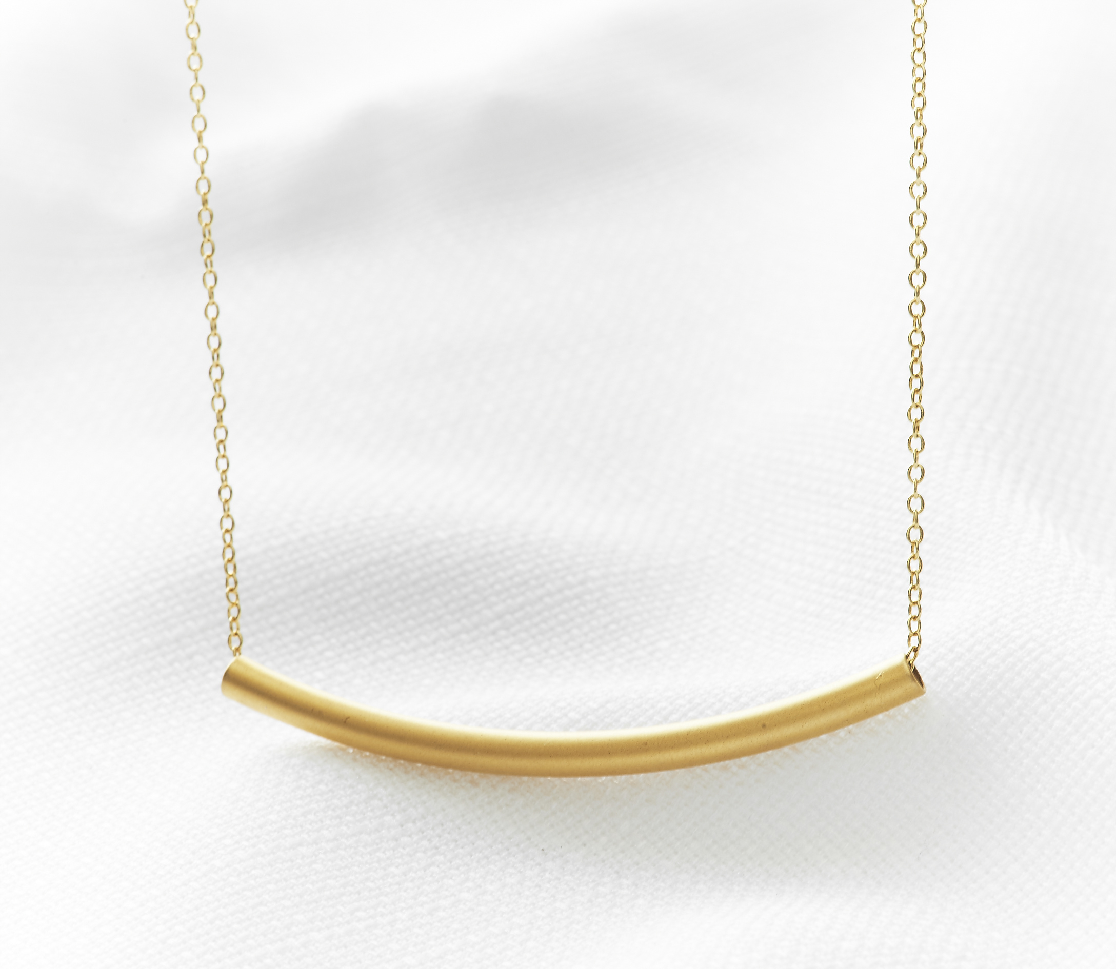 79af60af6e8 Gold Bar Necklace